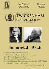 "Concert coral: ""Immortal Bach"""