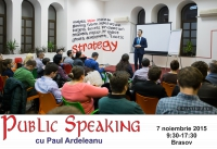 Public Speaking cu Paul Ardeleanu
