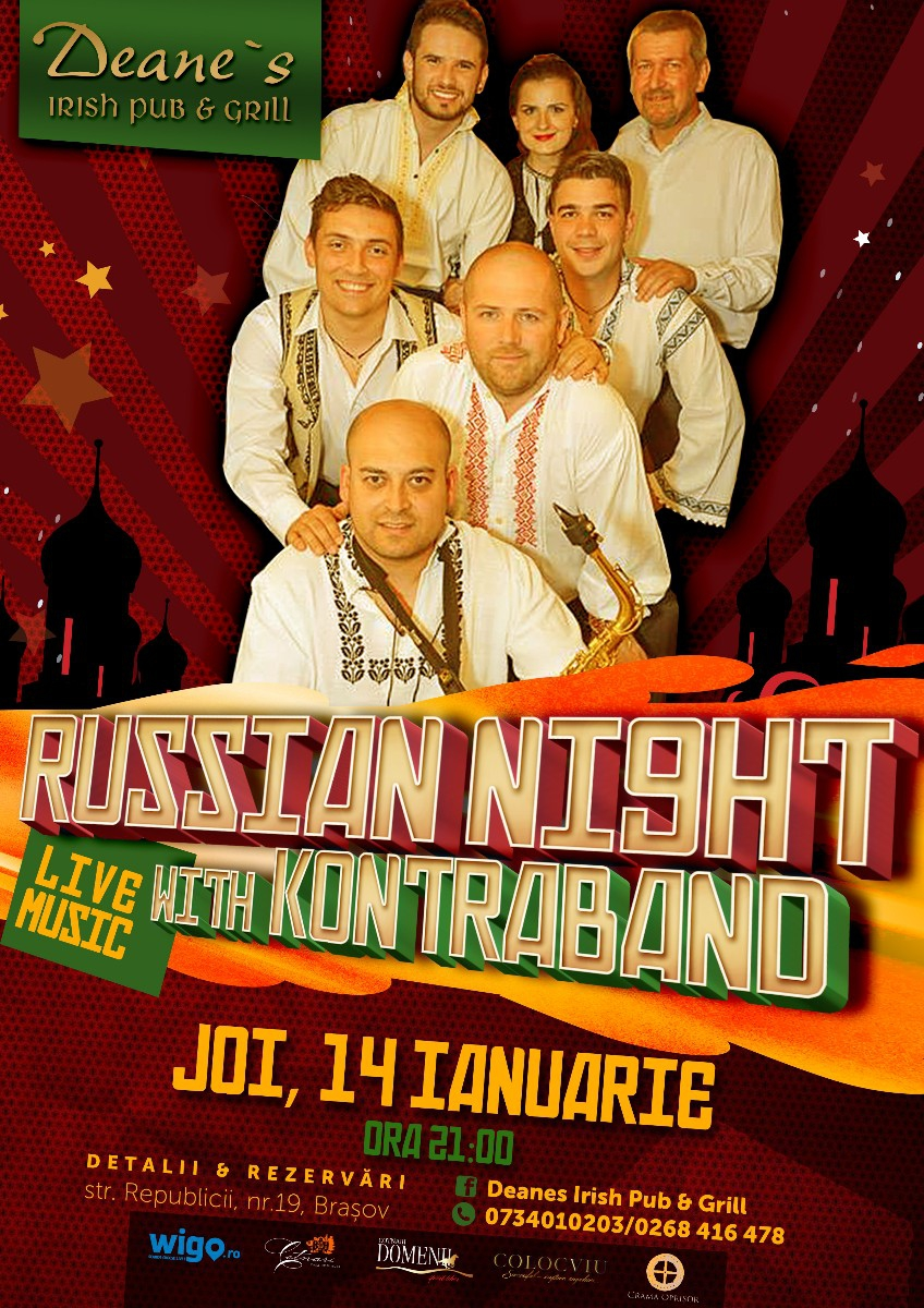 Russian Night with Kontraband