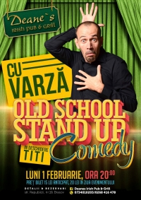 Old School Stand`Up Comedy cu Varza