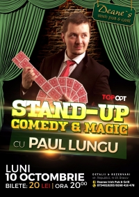 Stand up comedy & magic