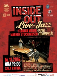Inside Out - live-jazz cu Florian Weber & Markus Stockhausen/ DE