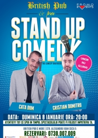 Stand-Up Comedy Duminica 8 Ianuarie Brasov