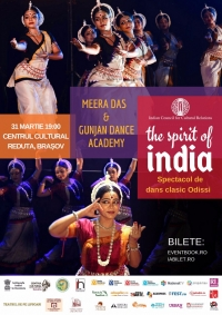 "Spectacol de dans clasic ""The Spirit of India"""