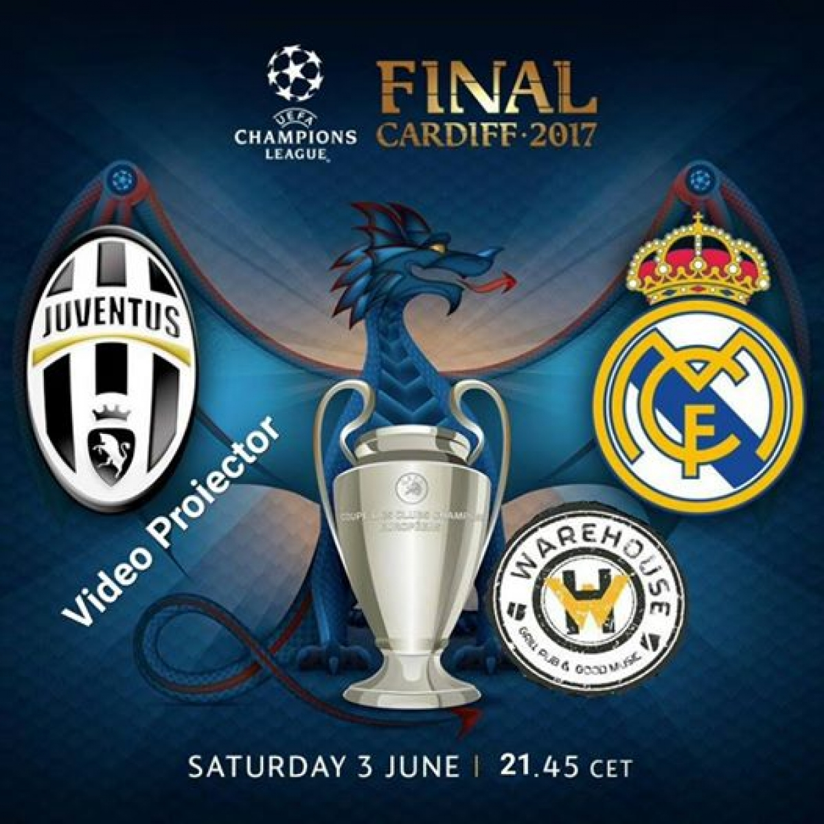 Finala Uefa Champions League//Juventus vs Real Madrid