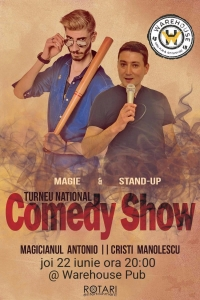 Magic Comedy Show // Magicianul Antonio & Cristi Manolescu