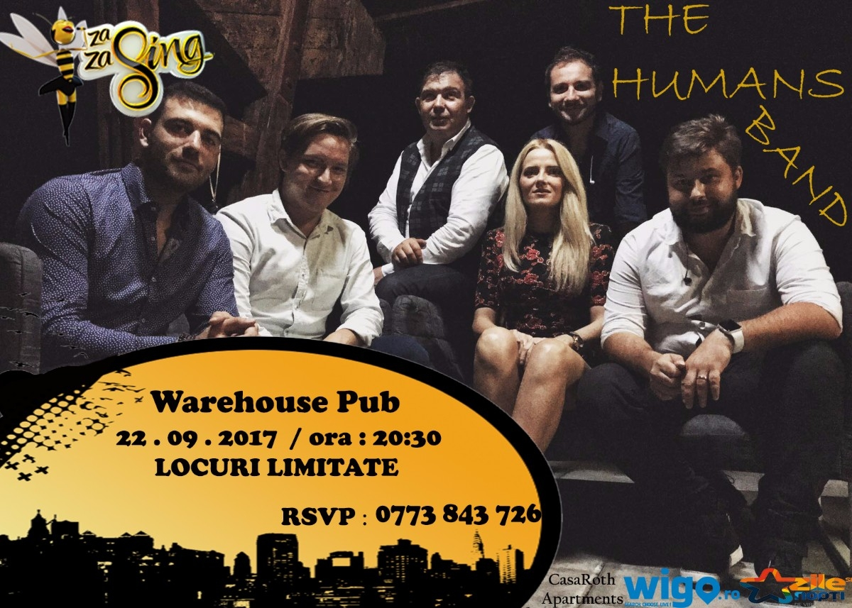 The Humans ZaZaSing - Live at Warehouse Pub