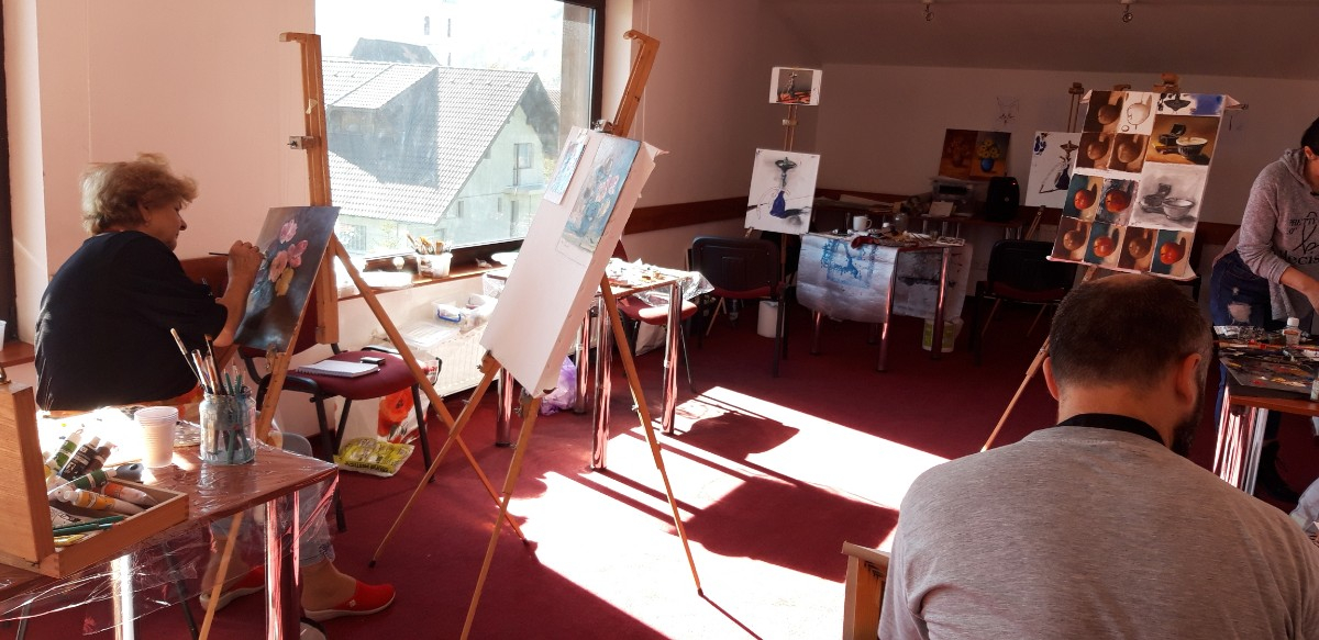 Atelier de pictura de weekend la Brasov