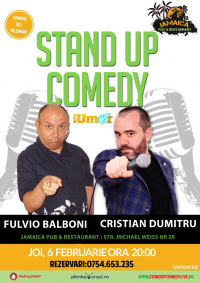 Stand-Up Comedy Brasov, Joi 6 Februarie 2020