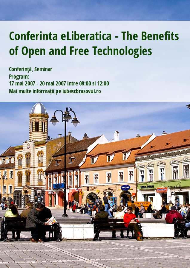 Conferinta eLiberatica - The Benefits of Open and Free Technologies