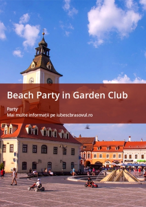 Beach Party in Garden Club