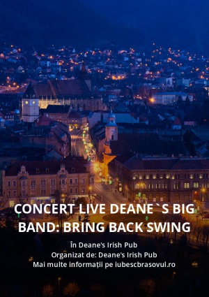 Concert live Deane`s Big Band: Bring Back Swing