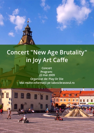 "Concert ""New Age Brutality"" in Joy Art Caffe"