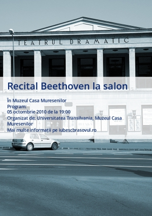 Recital Beethoven la salon