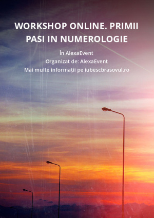 Workshop Online. Primii pasi in Numerologie